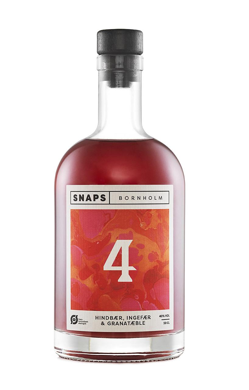 № 4 Hindbær, Ingefær & Granatæble